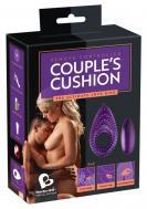Kroužek na penis You2Toys COUPLES CUSHION vibrační black