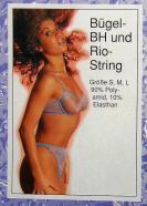 bugel-bh und rio string šedá -S