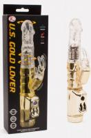 U.S. Gold Lover vibrating rotating penis