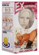 Nafukovací panna s 3D obličejem Heidi Lauritsen