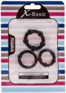 X-Basic Beaded Cockring Set