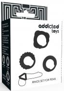 Addicted Toys C-Ring Set Black